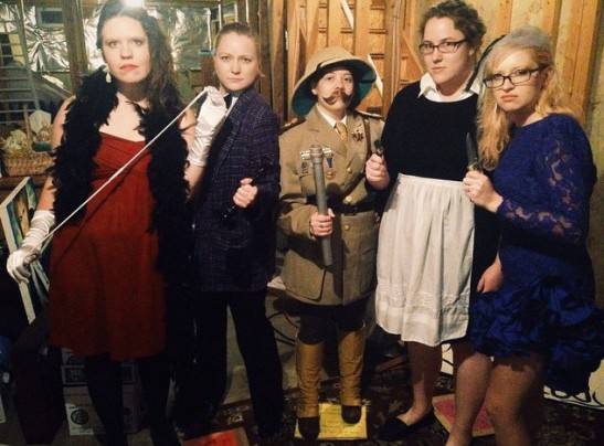 group clue costume